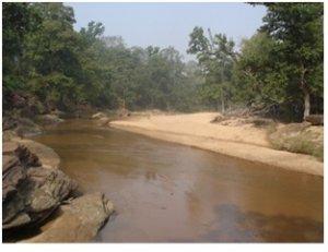 River at Mada Caves